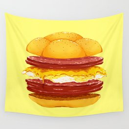 Pork Roll, Egg, & Cheese Wall Tapestry