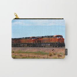 Orange BNSF Engines Carry-All Pouch