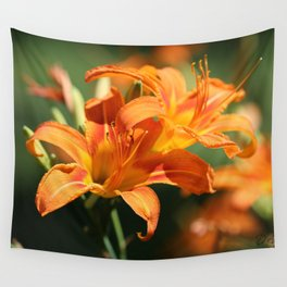 Day Lily Dance Wall Tapestry