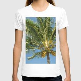 Hawaiian Coconut Palm Tree T-shirt