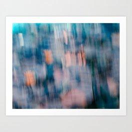 Tropical Impressionism (variation) Art Print