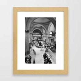 MET New York Framed Art Print