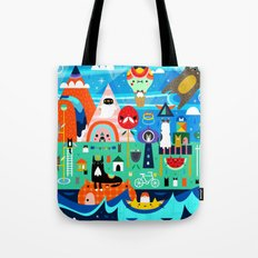 Kitty Island Tote Bag