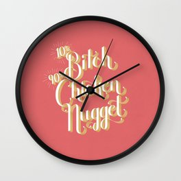 Chicken Nugget Wall Clock