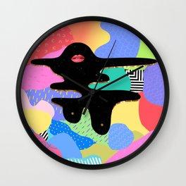Collag Fantasy Wall Clock