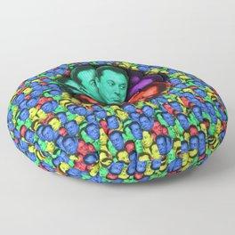 ELON MUSK ART PRINT Floor Pillow