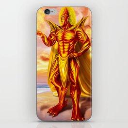 Dwain God of fire iPhone Skin