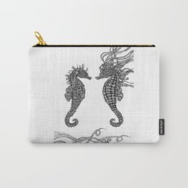 Seahorses love Carry-All Pouch