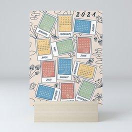 2021 Snapshot Calendar Mini Art Print