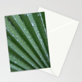 Green Palm Frond DPG160217-15 Stationery Cards