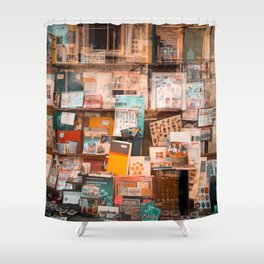 Collectibles Shop in Gent Shower Curtain