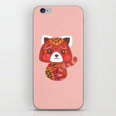 Jessica The Cute Red Panda iPhone & iPod Skin