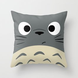 Dubiously Troll Throw Pillow