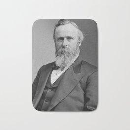 President Rutherford B. Hayes Bath Mat