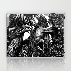 The Riot : Crows Laptop & iPad Skin