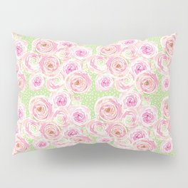 Blush Pink Bouquet Pillow Sham