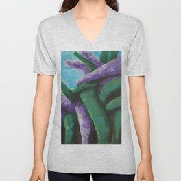 Buddleia abstract Unisex V-Neck