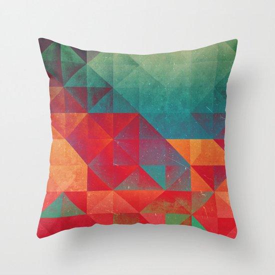 myssyng pyyce Throw Pillow