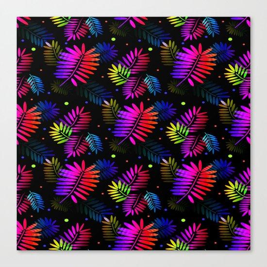 Splashy Tropics Canvas Print