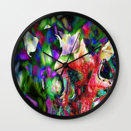 Psychedelic Persuasion Wall Clock