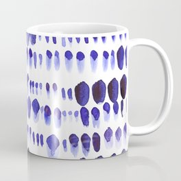 Ultra Violet Paint Splodges Coffee Mug