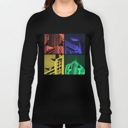 Chrysler Pop Art Long Sleeve T-shirt