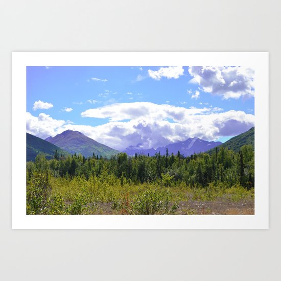 The Mountains Are Calling . . . II Art Print