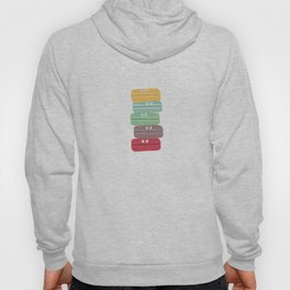 Colorful macarons with eyes Hoody