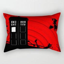 Tardis Halloween Rectangular Pillow