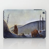 bears iPad Cases featuring Bears  by Kristin Rian