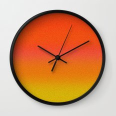 Re-Created Color Field No. 13 by Robert S. Lee Wall Clock