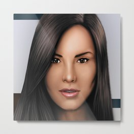 Venezuelan Beauty Metal Print