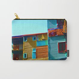 Sunny Morning at La Boca, Buenos Aires Carry-All Pouch