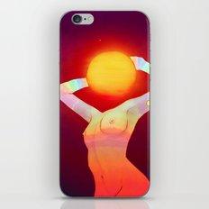 Sun Head iPhone & iPod Skin