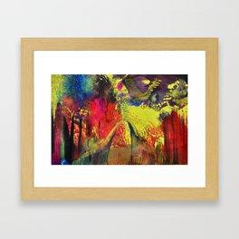 Abstract 100 - Fantasy World Framed Art Print