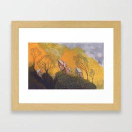 Inclined Framed Art Print