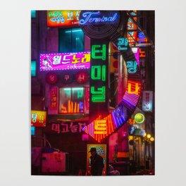 Older Neon Lights Poster