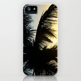 Palm Beach Gold iPhone Case