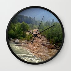 Good and Bad things come together Wall Clock