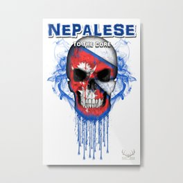 To The Core Collection: Nepal Metal Print