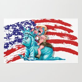 Liberty is in my control iPhone 4 5 6 7, ipod, ipad, pillow case and tshirt Rug