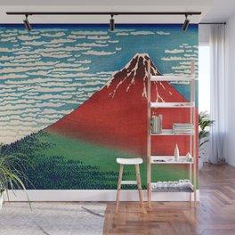 Katsushika Hokusai - Fine Wind, Clear Morning Wall Mural