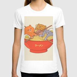 Ramen cats T-shirt