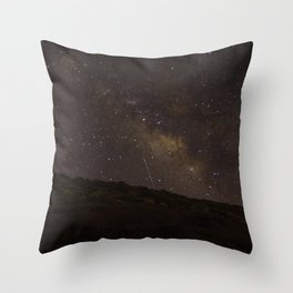 Brown Milkyway Throw Pillow