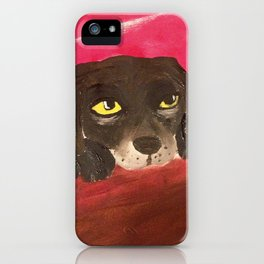 Jake, the Baby Labrador iPhone Case