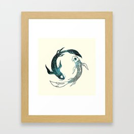 Balance in the Universe Framed Art Print