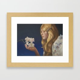 As love grows from within Framed Art Print