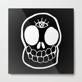 Dead Woke Metal Print