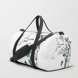 Poetic Giraffe Duffle Bag