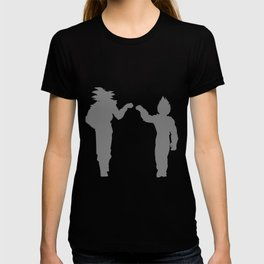 DBZ Goku Vegeta Shadows T-shirt